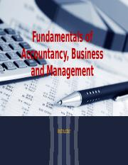 Fundamentals of Accountancy, Business and Management 1.pptx