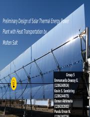 Group 5 Assignment 1 Solar Thermal Power Plant fin