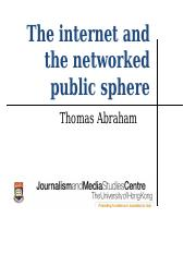 networked public sphere.ppt