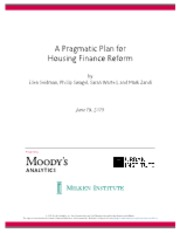 HFR-Pragmatic Plan for Housing Finance Reform