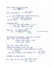 COE 758 Mean Field Interaction Notes