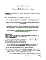 Ionic Bonds - Student Exploration - Worksheet (2).pdf ...