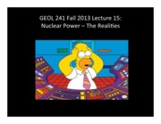 Lect15 -- Nuclear Realities