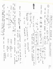 Calculus for Business Practice Test 2 Solutions