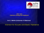 11. Inversion_for_acoustic_and_elastic_impedances