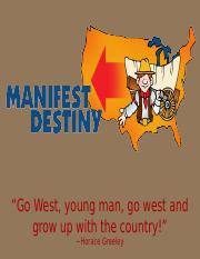 Manifest Destiny and Trails