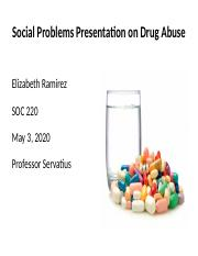 Social Problems Presentation of Drug Abuse.pptx