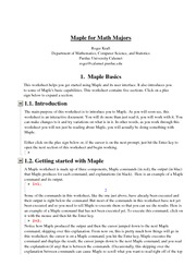Worksheet01