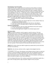 Handout on Roman Law and Religion