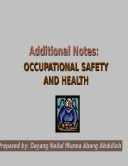 Additional Notes_OSH.ppt