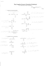 complete+organic+chemistry+worksheet+answers
