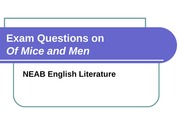 Exam Questions on