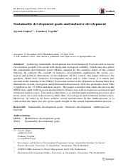 Sustainable development goals and inclusive development.pdf