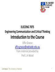 1. Introduction to ELECENG7057