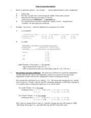 Regression_Analysis_Notes