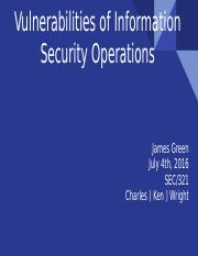 Vulnerable Areas of Information Security Operations.pptx