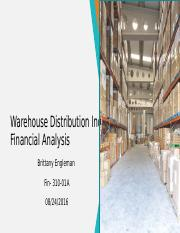 Warehouse Distribution Inc