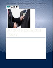 UU 200 RESEARCH ESSAY_S11076936.docx