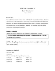 ECE2100_EX_II_Basic_Circuit_Laws