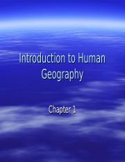 Chp 1 Introduction to Human Geography TK.ppt