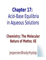 ch17Acid_Base_Equilibria.ppt
