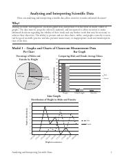 4 Analyzing And Interpreting Scientific Data S Analyzing And