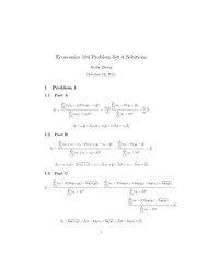 Econ 104 PS4 Solutions(3)