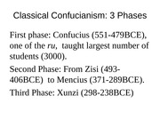 2nd lecture Confucius