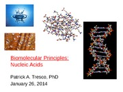Week 3 _Biomolecular Principles_Jan 24_2014