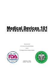 Module I.Medical Devices 101