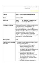 mngt 5590 organizational behavior midterm exam