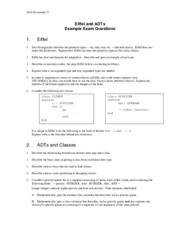 EECS 3111 Eiffel And ADT Questions Exam