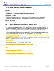 3.2.3.4 Lab - Researching Networking Standards J Peguero.docx