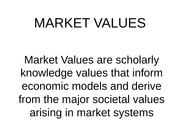 7.Market Values(1)