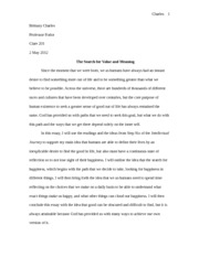 Essay #2 intellectual journey