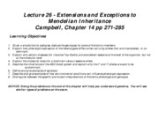 Lecture 26 exceptions