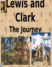 Lewis and Clark Powerpoint