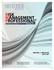 24949771-Study-Guide-for-the-PMI-Risk-Management-Professional-r-Exam