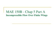 MAE 150B - 05A - Incompressible Flow over Finite Wings