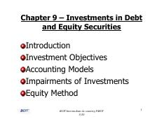 chapter 9 Investments