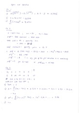 Algebra and Statistics Notes