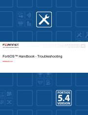 fortigate-ha-56 pdf - FortiOS Handbook High Availability