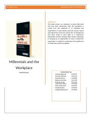 Book Review - Millenials and the Workplace