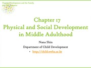 Chapter17. Physical and Cognitive Development in Middle Adulthood (cyber)