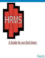 End User Guide_HRMS