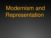 Intro to Modernism