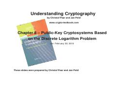 Understanding_Cryptography_Chptr_8---Discrete_Logarithm