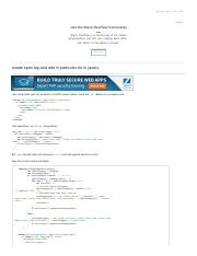 html5 - create span tag and add in particular div in jquery - Stack Overflow