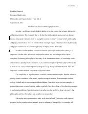 Philosophy & Culture (Final Draft)