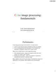 06-1 - Color image processing